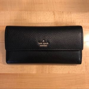 Kate Spade Large Leather Wallet